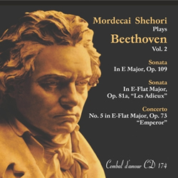 Mordecai Shehori Plays Beethoven, Vol. 2